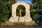 Vienna, Stadtpark, Johann Strauss Monument, Photo Nr.: W3296
