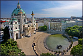 Vienna, Karlskirche, Photo Nr.: W3299
