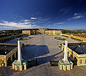 Vienna, Castle Schoenbrunn, Photo Nr.: W3475