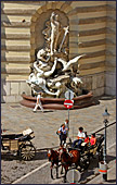 Vienna, Michaelerplatz, Photo Nr.: W3536