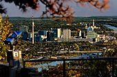 Vienna, View from Leopoldsberg, Photo Nr.: W3960