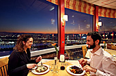 Vienna, Diner in Danube Tower, Photo Nr.: W4250