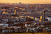 Vienna, View from Leopoldsberg, Photo Nr.: W5235