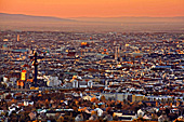 Vienna, View from Leopoldsberg, Photo Nr.: W5237