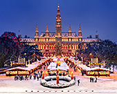 Vienna, Christkindlmarkt Adventmarkt Rathaus Adventzauber, Photo Nr.: W5300