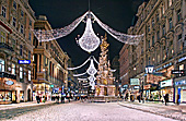 Vienna, Graben, Pestsäule,  Photo Nr.: W5307