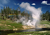 Yellowstone National Park, Riverside Geyser, Photo Nr.: y018