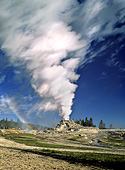 Yellowstone National Park, Castle Geyser, Photo Nr.: y020