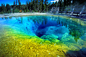 Yellowstone National Park, Morning Glory Pool, Photo Nr.: y025