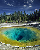 Yellowstone National Park, Morning Glory Pool, Photo Nr.: y066