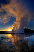 Yellowstone National Park, Grand Prismatic Spring, Photo Nr.: y075