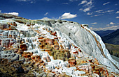 Yellowstone National Park, Mammoth Hot Spring, Photo Nr.: y125