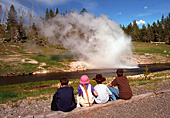 Yellowstone National Park, Riverside Geyser, Photo Nr.: y150